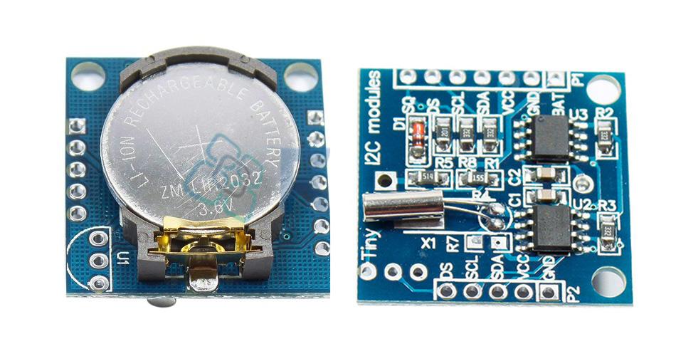 В статье описано как сделать модуль часов реального времени arduino на микросхеме maxim ds ds - печатная плата, схема datasheet на русском.
